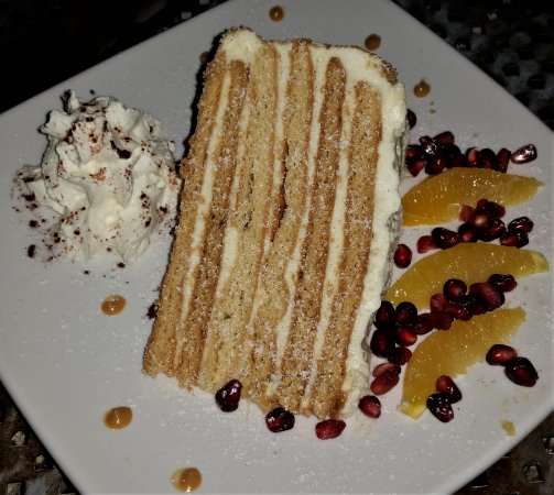 Troy, NY: Russian Feast (3rd course) - six layer honey cake.