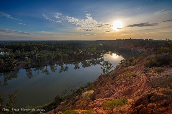 New South Wales, Austrália: Headings Cliffs, Riverland, South Australia - Photo: Murray River Photos