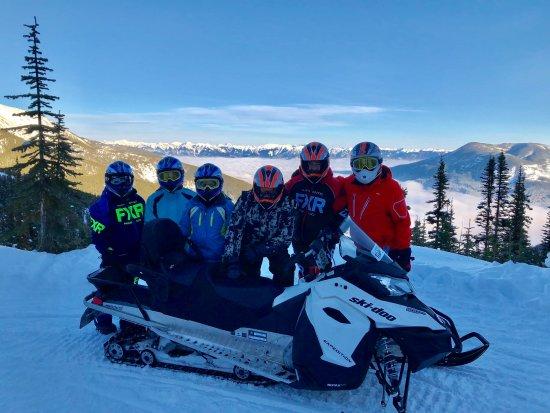 Toby Creek Adventures Ltd.: Ski Mobiles with Toby Creek Adventures