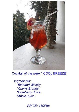Pearl Restaurant at Linaw Beach Resort: COOL BREEZE