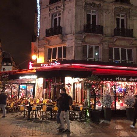 Le Cafe Rive Droite  Rue Berger  Paris France