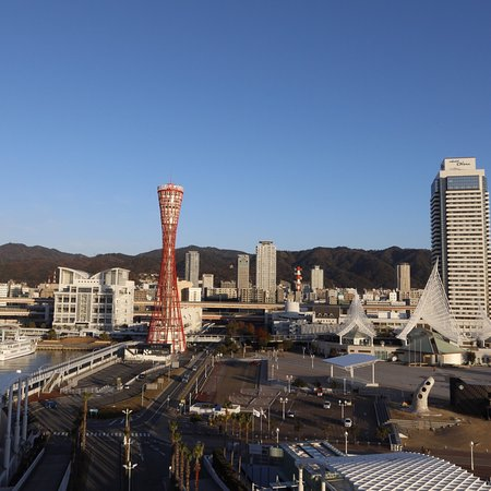 My first time in Meriden Park Oriental Hotel Kobe