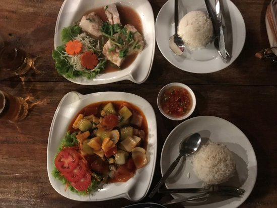 L. Maladee Restaurant : Menue