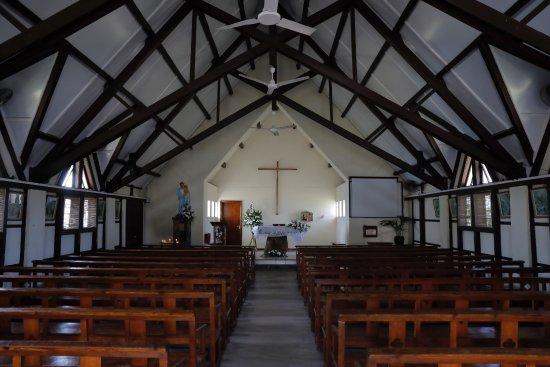 Notre Dame Auxiliatrice: Church Interiors.