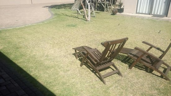 Table View, South Africa: Garden chairs