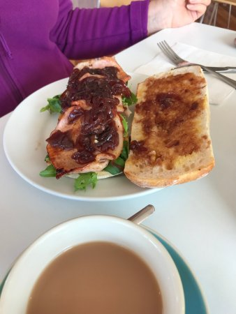 Maydena, Australia: BLT with home made onion relish