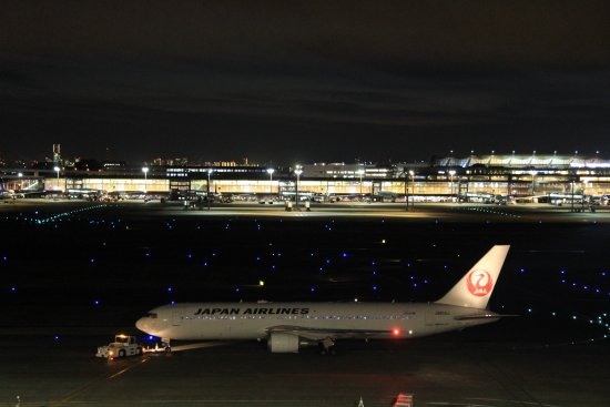 Tokyo International Airport (Haneda) Terminal 1 Observation Deck Picture