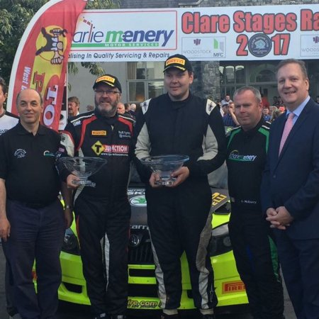 Ennis, Ireland: Clare Motor Rally Presentation