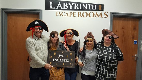 Labyrinth Escape Room Grimsby