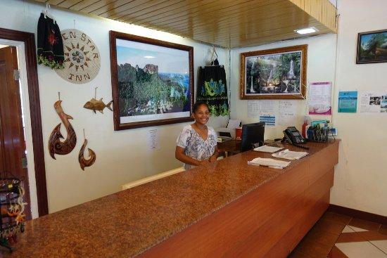 Kolonia, Federated States of Micronesia: En enastående och hjälpsam personal på hotellet. 7 stjärnor till dem.