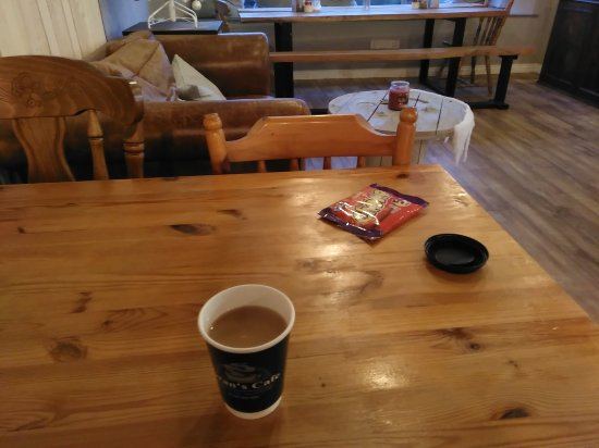 Toome, UK: Tea for one