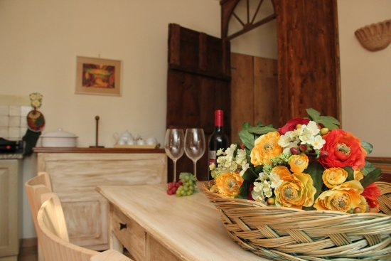 Castello delle Forme, İtalya: Kitchen