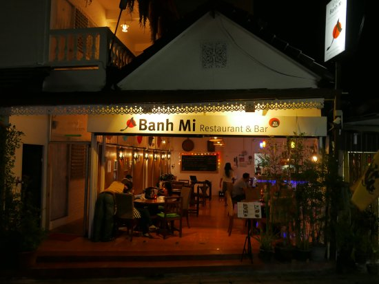 Banh Mi Guest House & Restaurant: Thank you Peter for the lovely photo of the front of Banh Mi Guest House