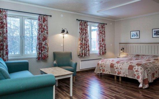 Birkebeineren Hotel & Apartments: Hotell, stort dobbeltrom. Photo: Geir Olsen