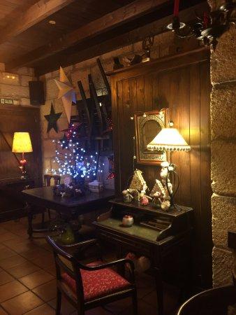 tasca la cantera interieur met kerst