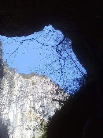 Rakek, Eslovênia: Foto tomada en la salida de la cueva