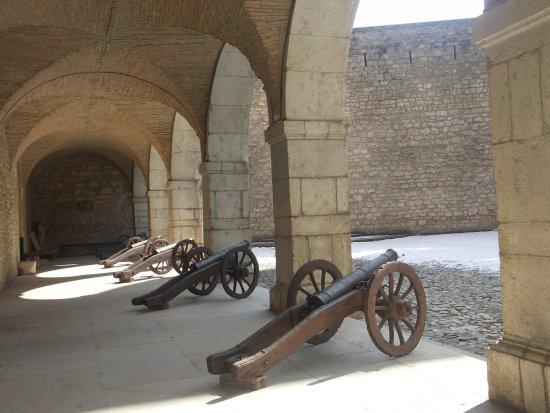 Virieu, France: Canons offerts par le roi Louis XIII