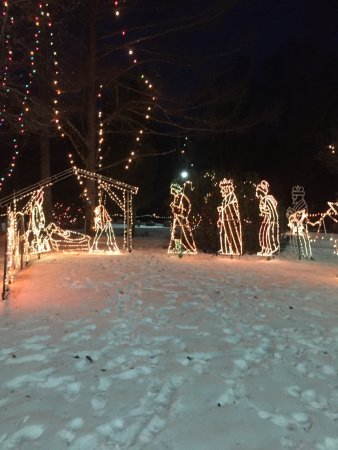 Fatima Shrine, Holliston, MA, December 2017 - Nativity with the Wisemen