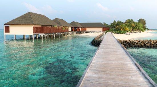 Summer Island Maldives: The resort's over-water restaurant