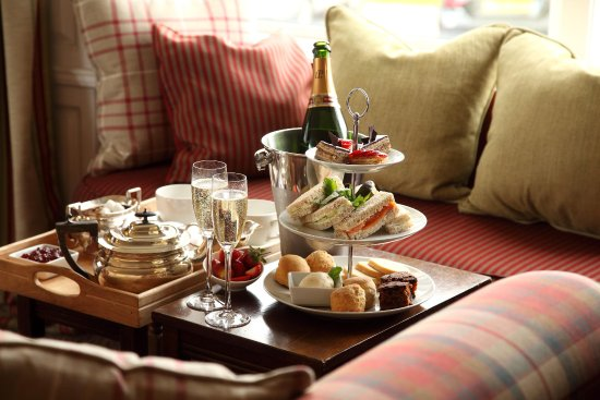 Sleat, UK: Afternoon tea at Kinloch Lodge