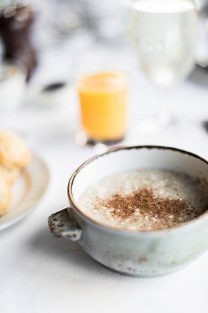 Sleat, UK: Marcello's famous porridge - winner of Best Porridge in Scotland