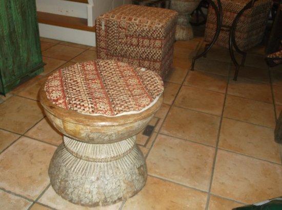 Dekoration Neben Den Sitzgelegenheiten Foto De Coffee