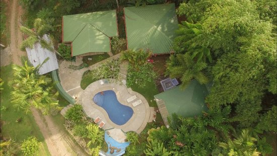 Liquid Magic Surf Resort: Arial view of grounds