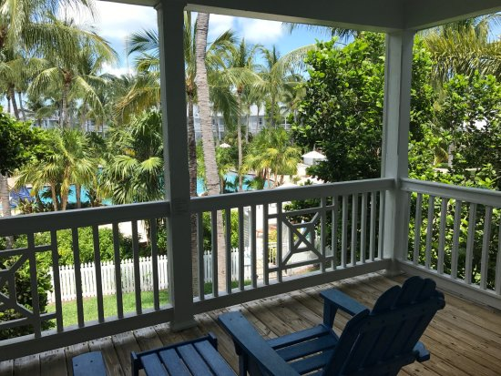 Tranquility Bay Beach House Resort: View from master suite on second floor