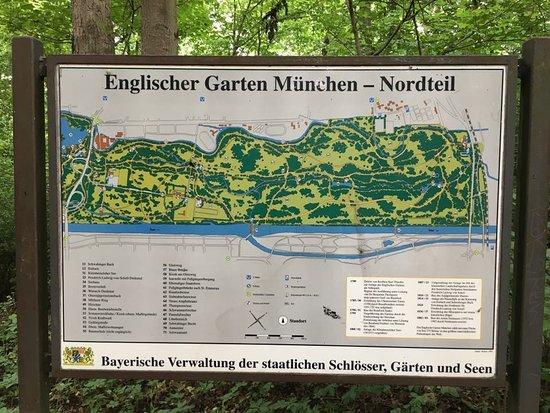 Mapa Do Englisher Garten Picture Of Hirschau Im Englischen Garten Munich Tripadvisor