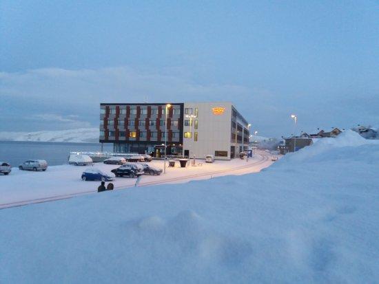 Thon Hotel Kirkenes: Great snow