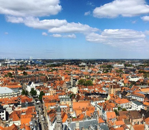 View from Belfort Tower Bruges Picture of Belfort Bruges