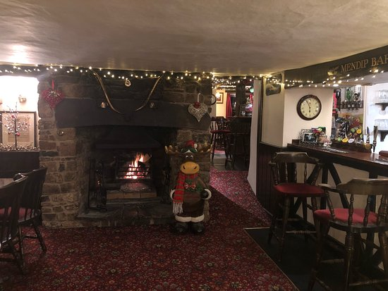 East Harptree, UK : Christmas at the Castle