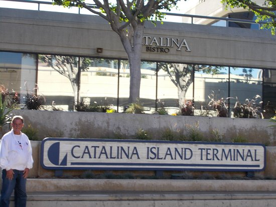 Catalina Island Chamber of Commerce & Visitors Bureau: Catalina Express dock in Long Beach