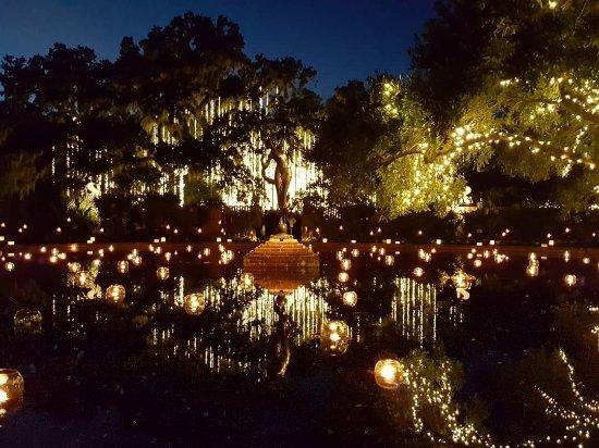 Night Of 1000 Candles Was Amazing Photo De Brookgreen Gardens Murrells Inlet Tripadvisor