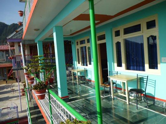 Second floor terrace foto di jagatram niwas homestay for Terrace 2nd floor