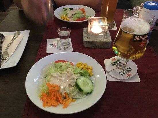 Schwerte, Deutschland: first part of gyros