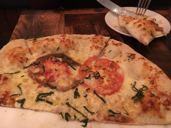Saline, MI: Flat bread pizza