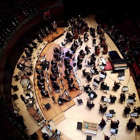 Kimmel Center for the Performing Arts: View from a box seat