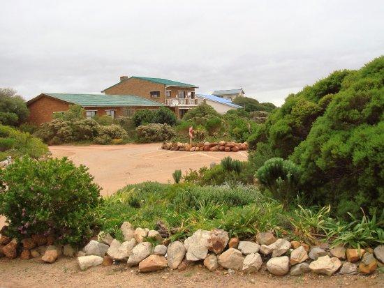 Rooiels, South Africa: Panorámica del pueblo