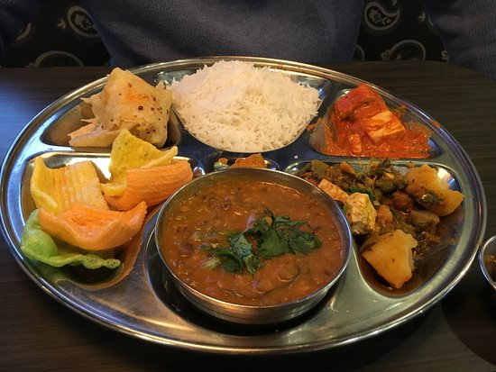 Garden City, MI: Thali for $8.95