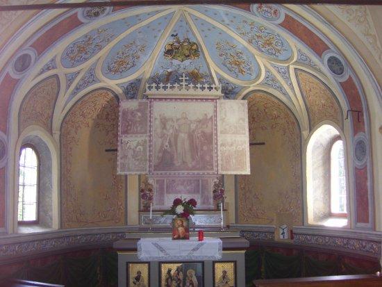San Candido, Itália: Foto dell'interno della Cappella di Bagni