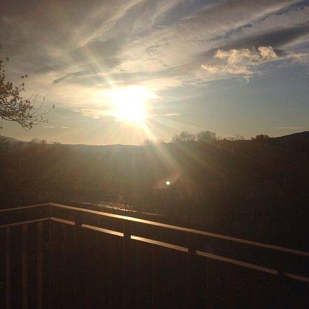 Πέλλα, Ελλάδα: Θέα από το μπαλκόνι πρωι πρωι 😍😍😍απλά υπέροχα