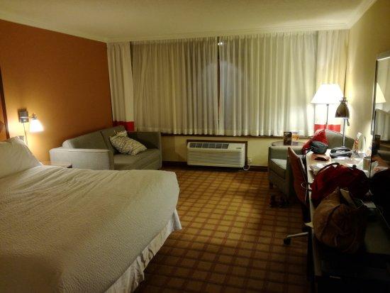 Hilton Niagara Falls/Fallsview Hotel & Suites: 14de etage.