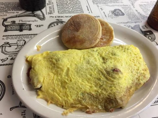 Golden Egg Omelet House: Omelet!