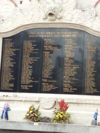 Ground Zero Monument: triestig , zoveel slachtoffers