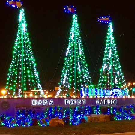 Дана-Пойнт, Калифорния: DANA POINT HARBOR, CA in Dec2017! All Lit Up & Ready for the 43rd Annual Boat Parade of Lights!