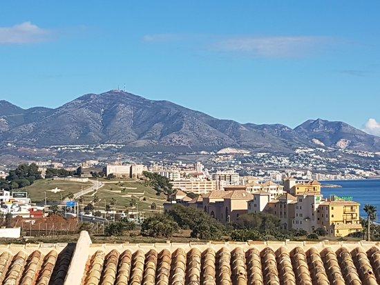 CLC Club La Costa World: Vista para a cidade de Fuengirola