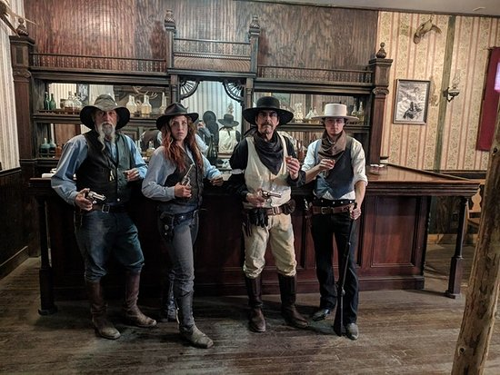 Tombstone, AZ: Meet the Cast..Scottie Corbin...Heather McKnight...Lewis Snow...Steven Schade