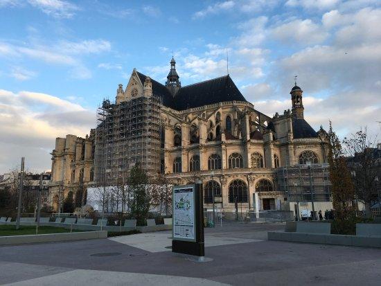 Les Halles, ฝรั่งเศส: Saint Eustace's Church