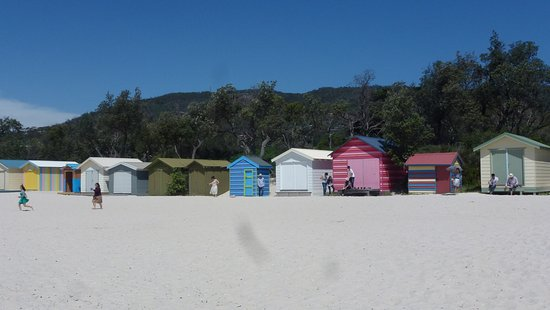 Mccrae Beach Huts On The